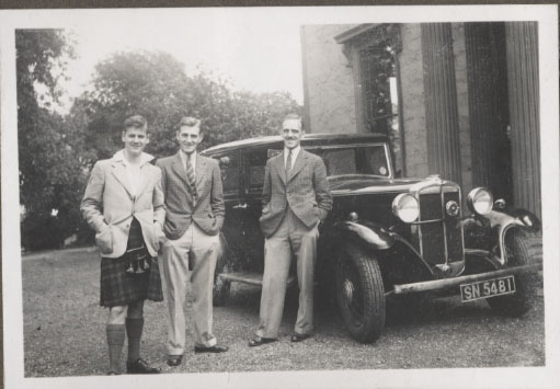 Auchentorlie House Aug 1935 - click for larger version - thanks to Priscilla Morris
