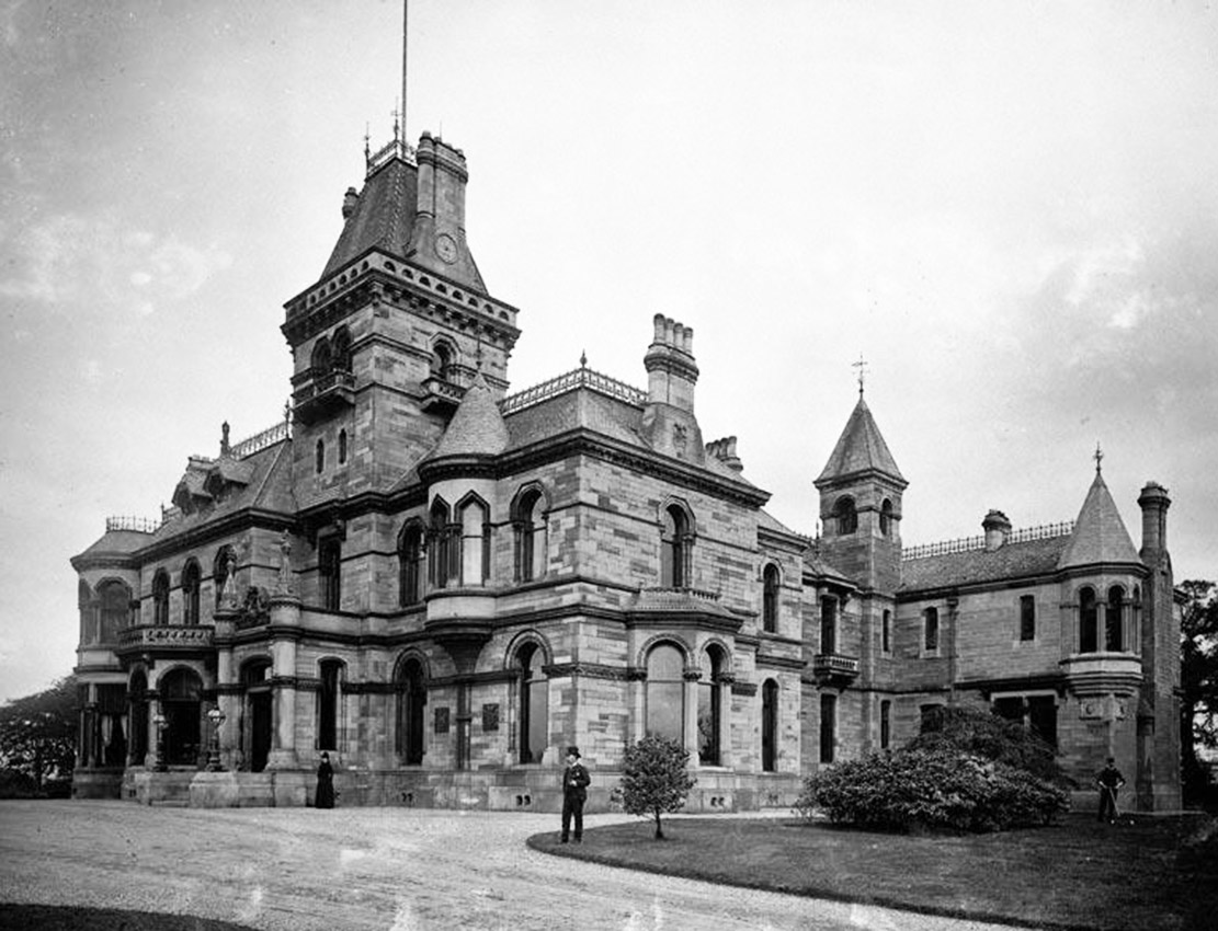 Gallowhill House-  from RCAHMS