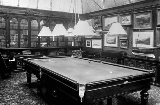 Kilnside House Billiard Room